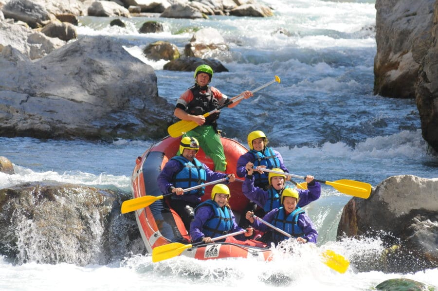Rafting Guil Durance Hautes Alpes