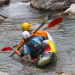 Échauffement Guil kayak 2 places