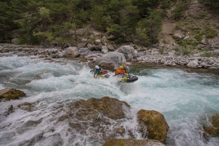 Cours de kayak sur le Guil, la Durance et l'Ubaye