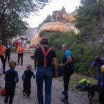 Rafting contée bas Guil Durance fontaines pétrifiante, fort Mont Dauphin, Rue des masques, la petite histoire